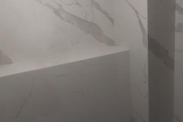 Bianco Statuario Venato 5,5 mm poliert