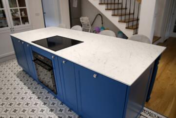 Küchenarbeitsplatten aus Frankoslab Carrara