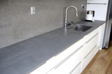 Küchenarbeitsplatten aus Pietra di Savoia Grigia